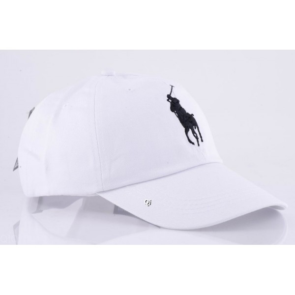 Polo Ralph Lauren Caps Washed Black White