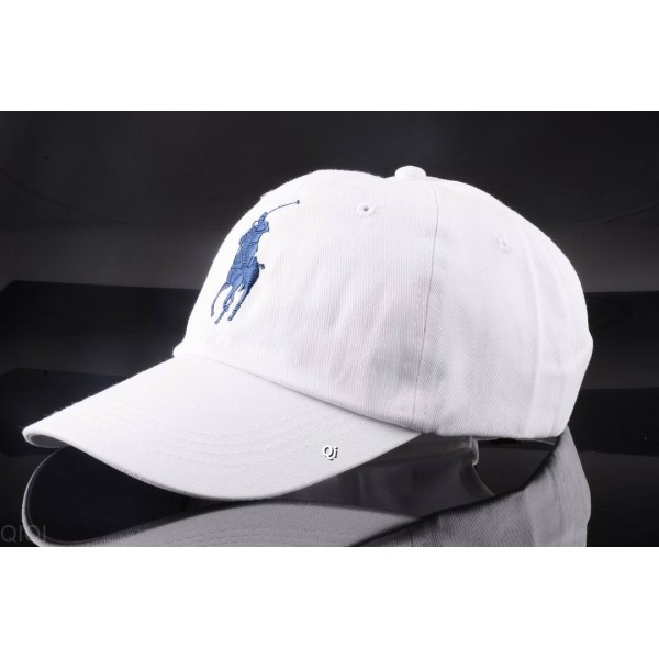 Polo Ralph Lauren Caps Washed Blue White