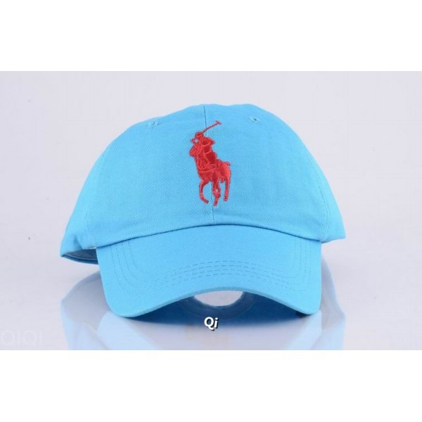 Polo Ralph Lauren Caps Washed Red Baby Blue