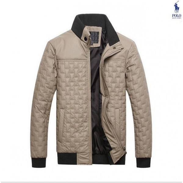 Buy Men's Polo Ralph Lauren Fashion Down Jackets In Sand