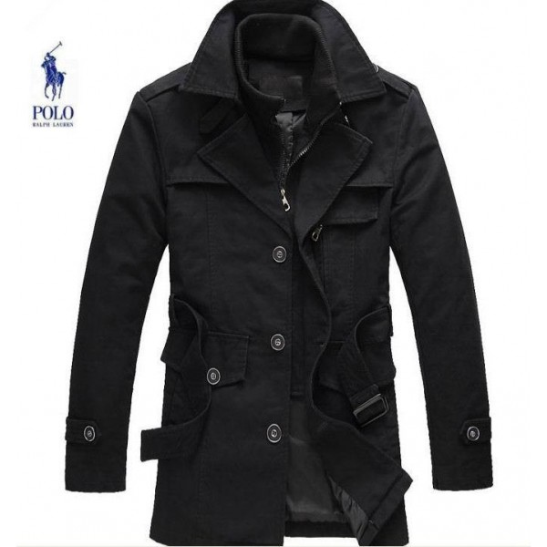Australia Online Men's Polo Ralph Lauren Jackets & Outwear Long In Black