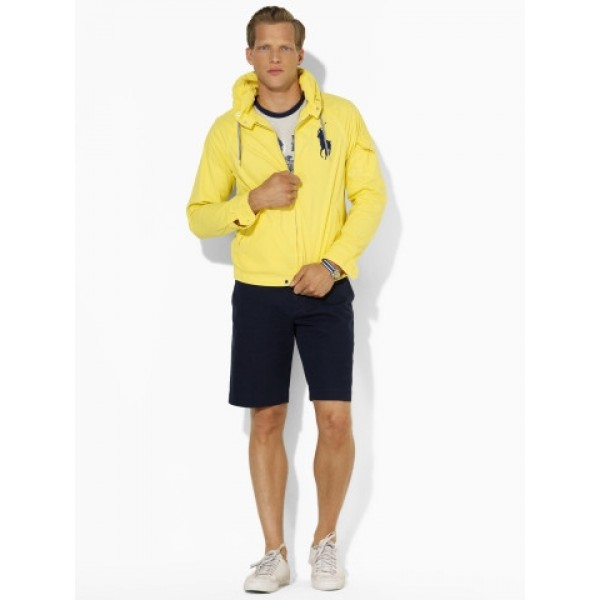 Best Ralph Lauren Polo Jackets & Outwear Fashion Yellow For Men
