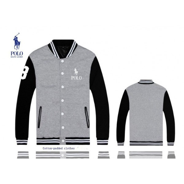 Cheap Clothes Polo Ralph Lauren Big Pony 3 Jackets & Outwear Grey For Men