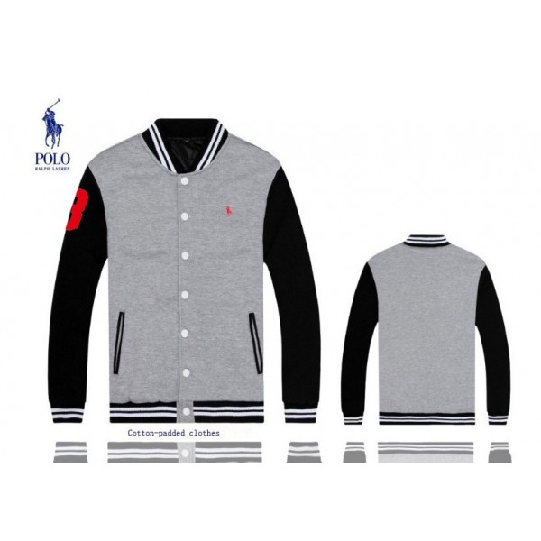 Cheap Polo Ralph Lauren Big Pony 3 Mens Jackets & Outwear In Grey
