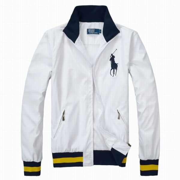 Factory Polo Ralph Lauren Mens Classic Jackets & Outwear In White