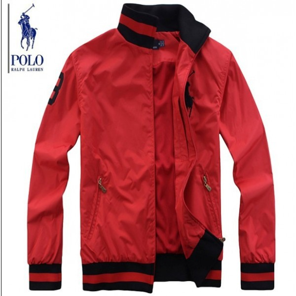 Online Outlet Ralph Lauren Polo Jackets & Outwear Classic Red For Men