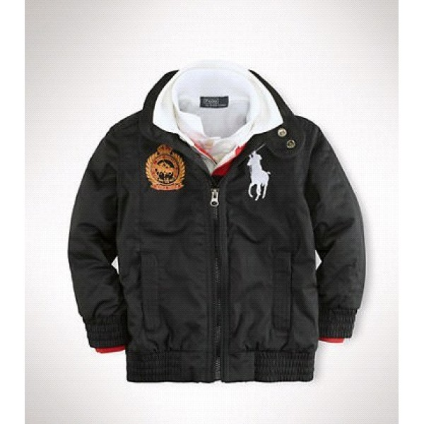 Outlet Online Ralph Lauren Polo Jackets & Outwear Big Pony Black For Men