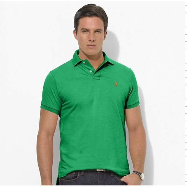 Polo Ralph Lauren Mens Polos Small Light Green