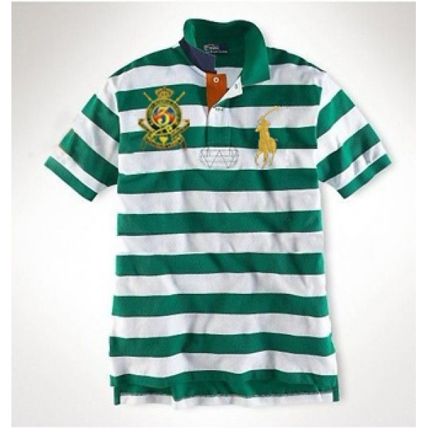 Ralph Lauren Polo Shirts Wide stripe Pony,PRL collection