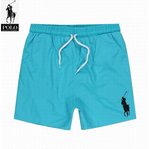 Polo Ralph Lauren Lace Shorts Big Pony Fluorescent Blue