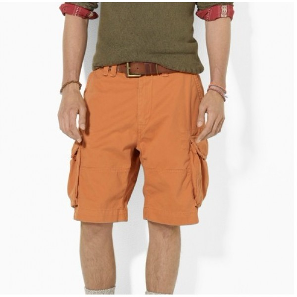 Polo Ralph Lauren Men Casual Pocket Short Orange