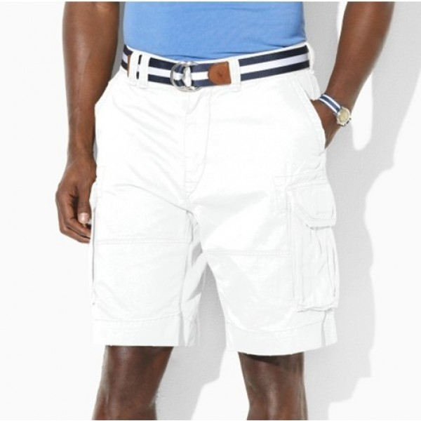 Polo Ralph Lauren Men Casual Pocket Short White