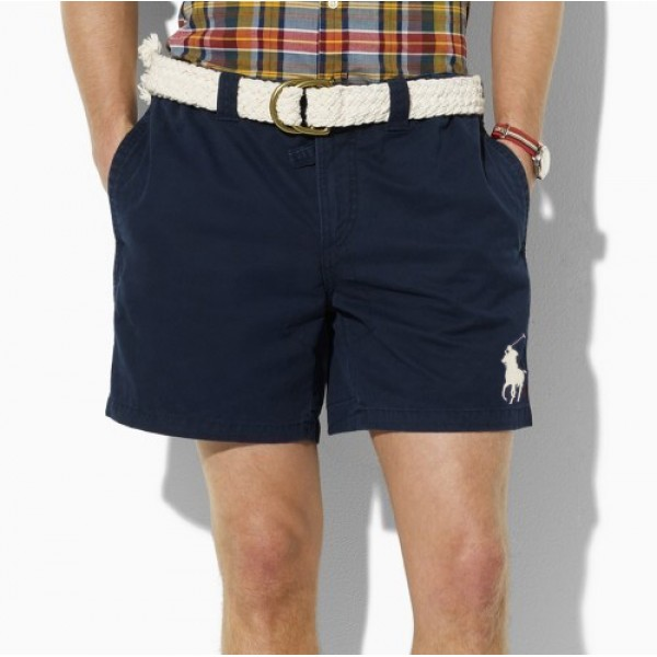 Polo Ralph Lauren Men Short Big Pony Blue