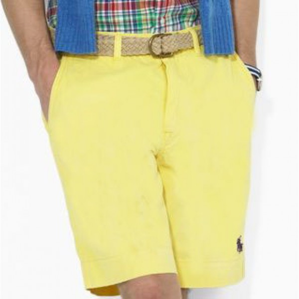 Polo Ralph Lauren Men Small Pony Casual Yellow