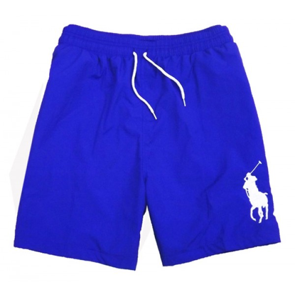 Polo Ralph Lauren Mens Big Pony Shorts Light Blue