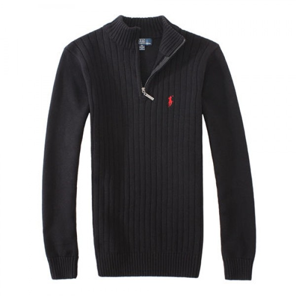 Polo Ralph Lauren Mens Sweaters Pullover 02 Black