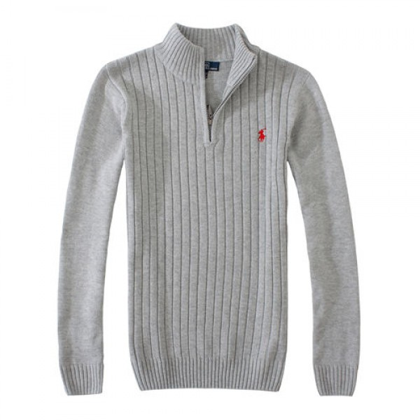 Polo Ralph Lauren Mens Sweaters Pullover 02 Grey
