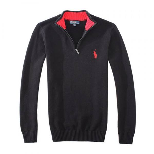 Polo Ralph Lauren Mens Sweaters Pullover 05 Black