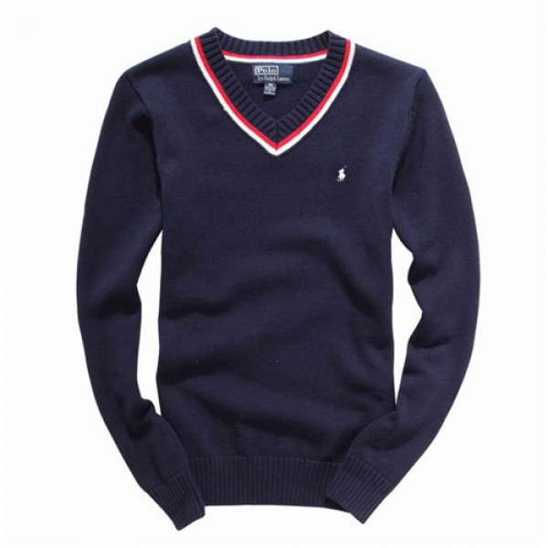 Polo Ralph Lauren Mens Sweaters Pullover Blue