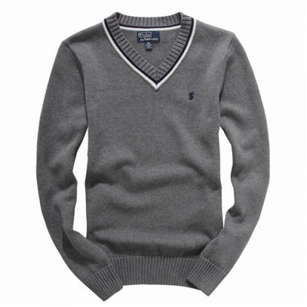 Polo Ralph Lauren Mens Sweaters Pullover Grey
