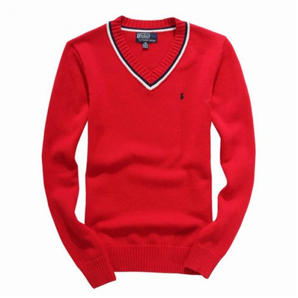 Polo Ralph Lauren Mens Sweaters Pullover Red