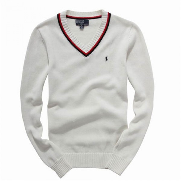 Polo Ralph Lauren Mens Sweaters Pullover White