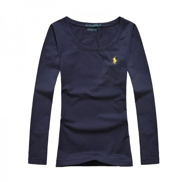 Polo Ralph Lauren Womens Polo Long Small Pony Blue