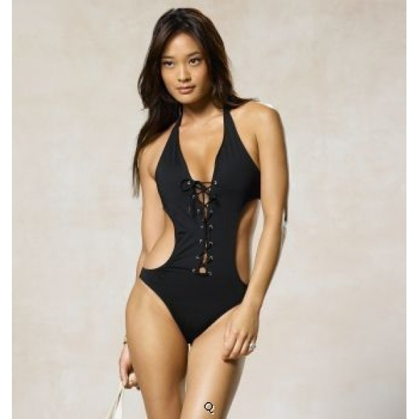 Polo Ralph Lauren Women Conjoined Twin Swimsuit,PRL super quality