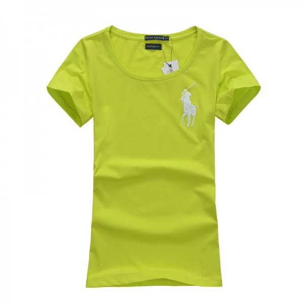 Polo Ralph Lauren Womens The Big logo Polo Light Green